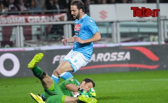 Serie A, Napoli-Torino alle 20.45