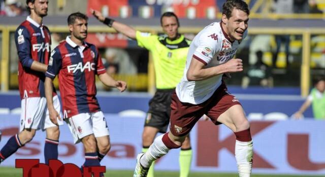 Bologna-Torino 0-1: Belotti cancella gli sbadigli al 93′