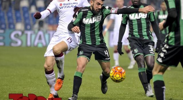 Toro-Sassuolo: i neroverdi hanno la quinta miglior difesa dal campionato