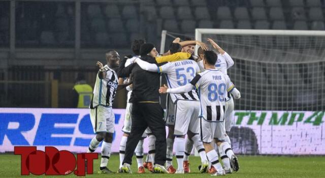 L'Udinese supera il Toro. Perdono Frosinone e Palermo
