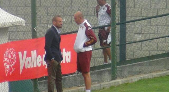 Chatillon, Petrachi a colloquio con Ventura e il suo staff