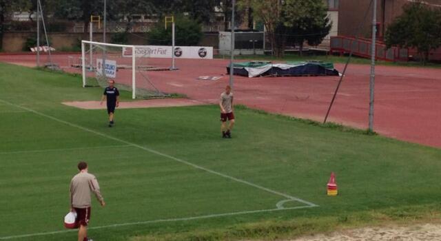 Sisport, in corso l'allenamento: Moretti e Gazzi ancora a parte